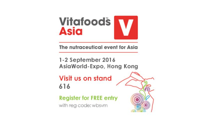 Vitafoods Asia 2016